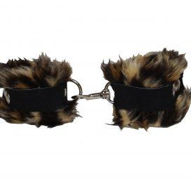 Cuffs Fleece Lined brown