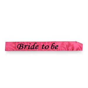Bride To Be Flashing Sash