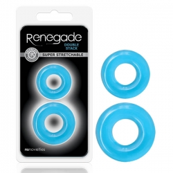 Renegade Double Stack 2pk Blue