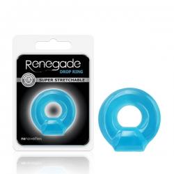 Renegade Drop Ring Blue