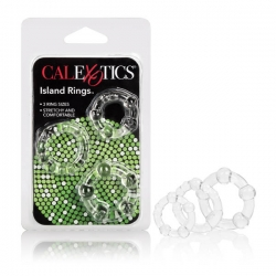 Silicone Island Rings Clear