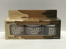 Chocolate Lovers Erotic Body Paint