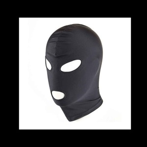 Stretch Hood w/ Eye & Mouth Blk