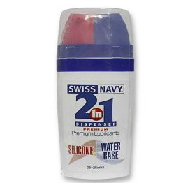 Swiss Navy 2 in 1 Sil/Wbase