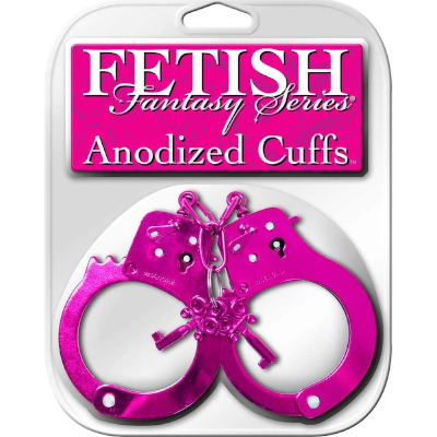 Hand Cuff Anodised Pink