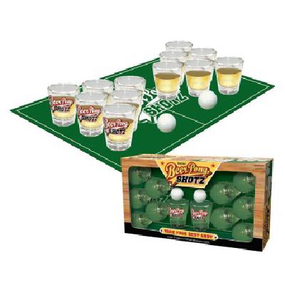 I Party Hard Beer Pong Shots