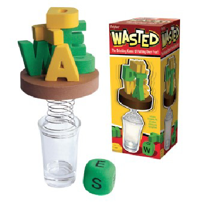 I Party Hard Wasted Drinking Game