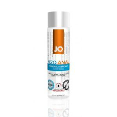 JO Anal H2O Warm Lube 120ml -40110