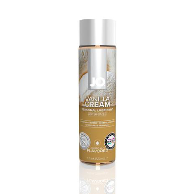 JO H2O Vanilla Cream Lube 120ml
