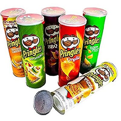 SAFE Pringles assorted