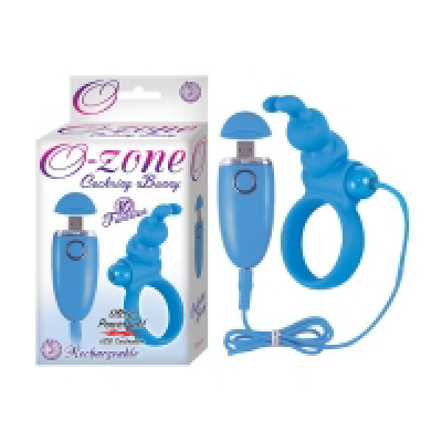 O Zone Cock Ring Bunny Blue d