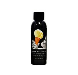 Massage Oil Edible -Vanilla 237ml