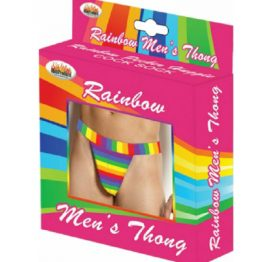 Rainbow Mens Thong