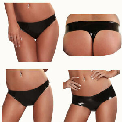 Latex G-String blk Small