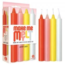 The 9's Make Me Melt Drip Candels Pastel
