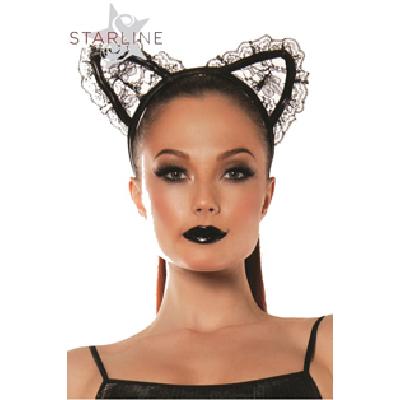 Lace Cat Ears