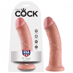"King Cock 8"" Flesh"