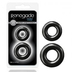 Renegade Double Stack 2pk Blk