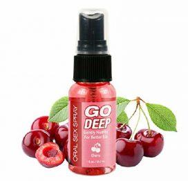 Go Deep Oral Spray - Cherry