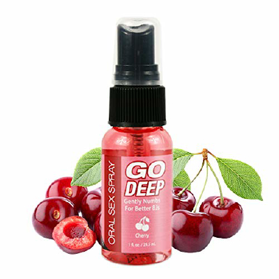 Go Deep Oral Spray - Cherry