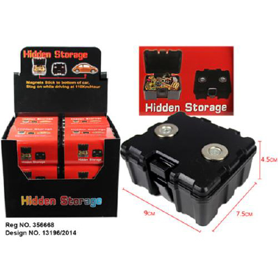 Magnetic Hidden Storage Box