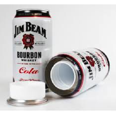 Safe Jim Beam Can