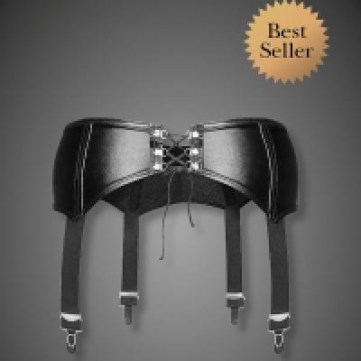 Sexy Garter Belt M Black