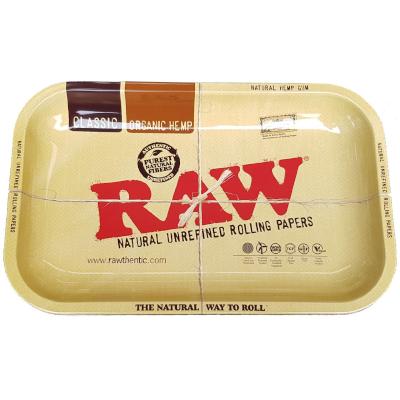 Raw Metal Rolling Tray M