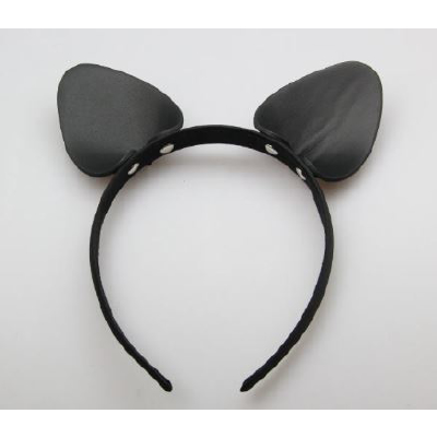 Leather Cat Ears