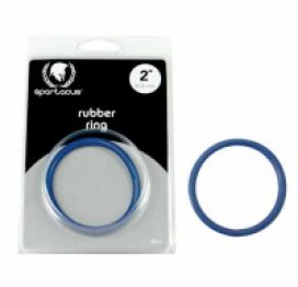 Spartacus Rubber C Ring 2 Blue d
