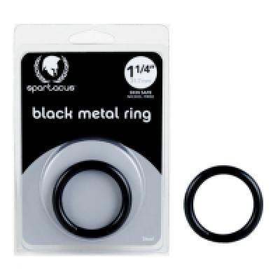 Spartacus Black Steel C Ring 1 1/2