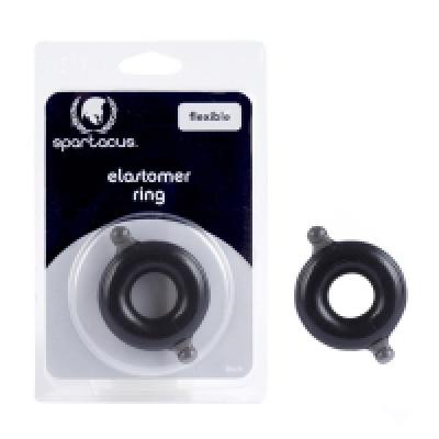 Spartacus Big ElastomerC Ring BLk