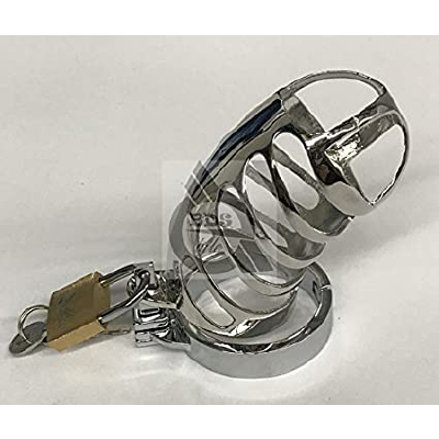 The Protector Ribbed Chastity Device S