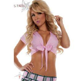 Starline Tie Top PinkS/M
