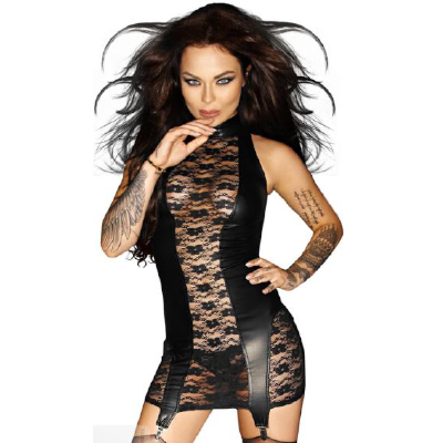 Nasty Dress w Garter Belt XL