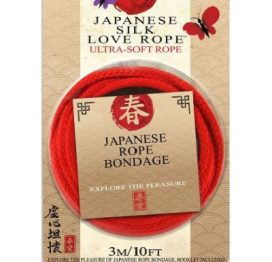 Japanese Silk Love Rope Red