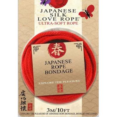 Japanese Silk Love Rope Red