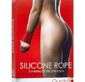 Ouch Silicone Rope Red