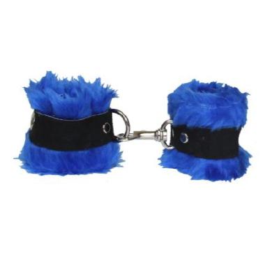 Soft Fleece Cuffs Blue