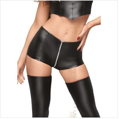 High Waist Shorts with Zipper s