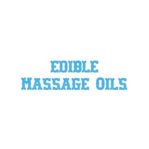 Edible Massage Oil
