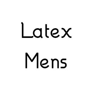 Latex Menswear