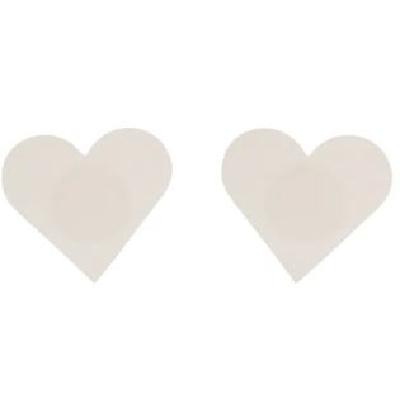 Nude Heart Nipple Covers