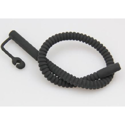 Silicone Sound Ribbed Med