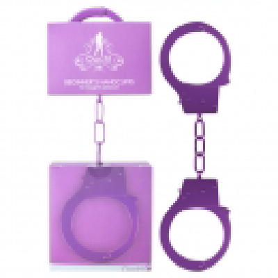Ouch Beginners Hand Cuffs Purple