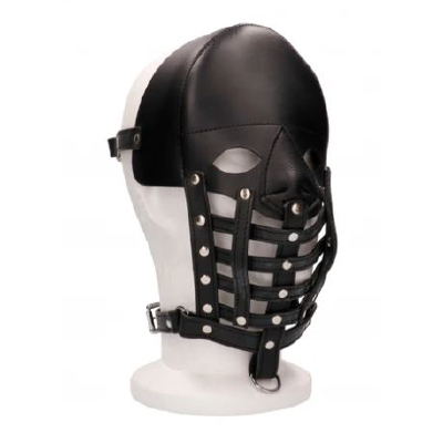 Leather Male Mask