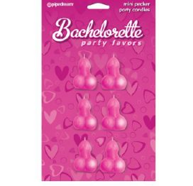 Bachelorette Pecker Candles Mini