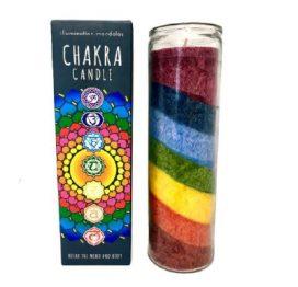 Charkra Candle Pillar