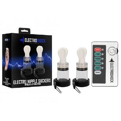 Electro Shock Nipple Twisters Clear