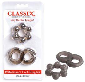 Classix Performance Cock ring set